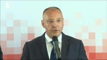 Лидерът на ПЕС Сергей Станишев декларира подкрепата си за Западните Балкани