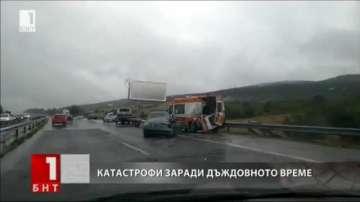Лошото време в България взе жертви на пътя