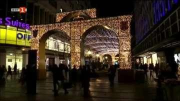 Белград вече с празнична украса