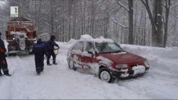 Зимната картина в страната