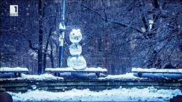 Намериха се авторите на снежния човек, превърнал се в звезда