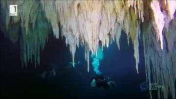 В Мексико откриха най-голямата подводна пещера в света