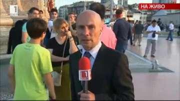 От нашия пратеник: На площад Таксим отново се събират хора