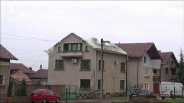 Ураганният вятър нанесе много щети тази нощ във Враца