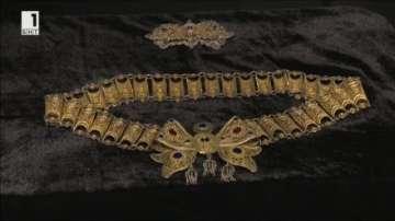 Изложба на позлатени накити в Националния исторически музей