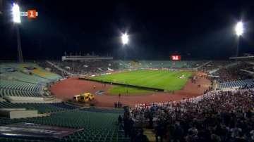 Още задържани фенове след мача България-Англия