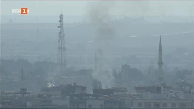 Спорадична стрелба в Северна Сирия след обявеното прекратяване на огъня.