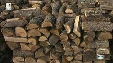 Дървата за огрев в Благоевград са на привършване