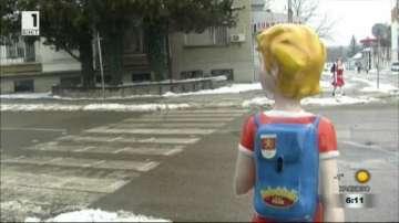 В Козлодуй акцентират върху безопасността на децата на пешеходните пътеки