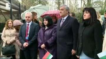 Церемония в памет на Васил Левски в Брюксел