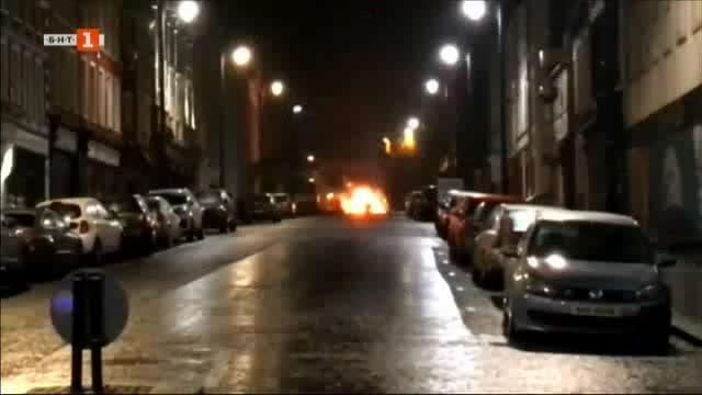 Снимка: Предполагаемо нападение с кола-бомба в Ирландия