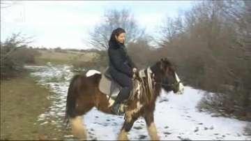 На конна езда... и през зимата