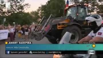 Словашки фермери протестираха срещу измамите със земеделски субсидии