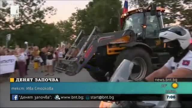 Фермери в Словакия протестираха срещу измамите със земеделски субсидии. Те