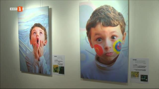 Атрактивна изложба запознава децата със съвременното изкуство и с творчеството