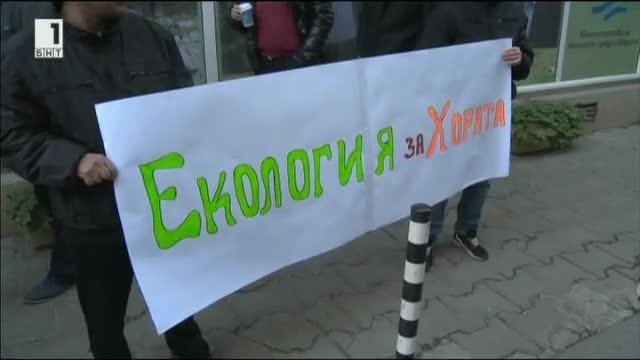 Протест и контрапротест за проблемите с Натура 2000