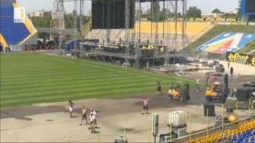 Преди концерта на Queen