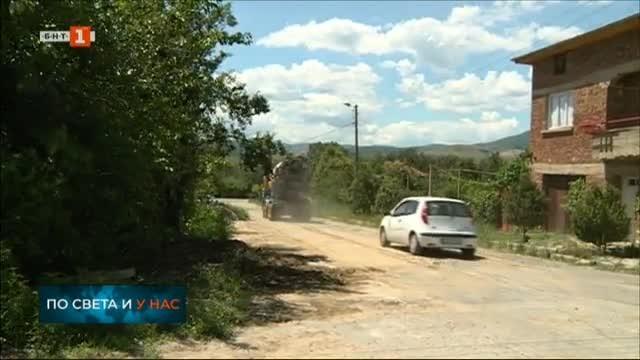 Голяма част от улиците в кочериновското село Мурсалево са в