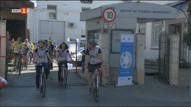 С велошествие в София Центърът за градска мобилност отбелязва края