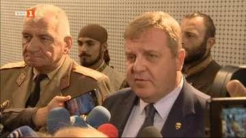 Каракачанов предложи коалиционен съвет с Волен Сидеров и Валери Симеонов