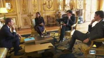 Кучето на френския президент Макрон прекъсна служебно заседание