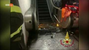 15 футболни запалянковци от Русия сред ранените при аварията на ескалатор в Рим