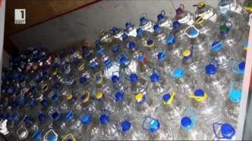Разбиха нелегален цех за производство на алкохол във Велико Търново