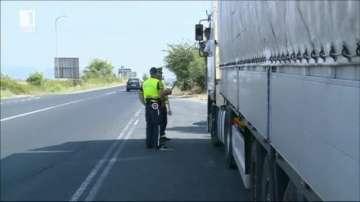 Проверки в цялата страна на тежкотоварни автомобили и автобуси