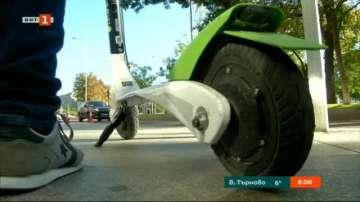 Забраниха движението на електрически скутери по тротоарите в Мадрид