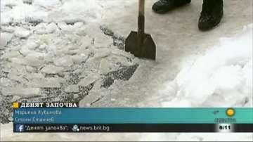 Снегопочистващата фирма в Пловдив работи в намален състав заради грипа