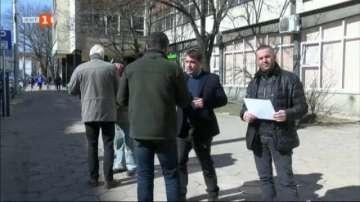Протест срещу наредбата за касовите апарати в Казанлък