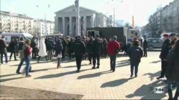 Арести в Беларус преди забранено от властите протестно шествие на опозицията