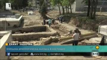 Уникална монументална сграда разкриха археолози в Кюстендил