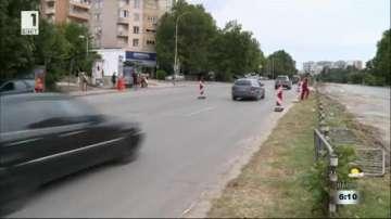 Ремонт на булевард във Варна крие рискове за пътуващите с градския транспорт