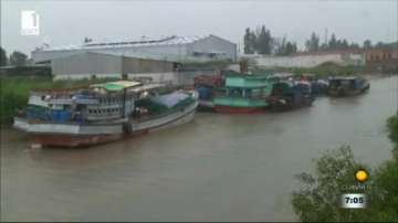 Тропическата буря Тембин край южните части на Виетнам отслабва