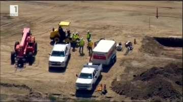 Започна пробно изграждане на стена по границата на САЩ с Мексико