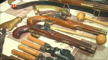 Турнир по стрелба със стари оръжия в Добрич