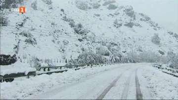 Арктически фронт донесе сняг в Испания