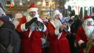Москва тепърва се готви за Коледа