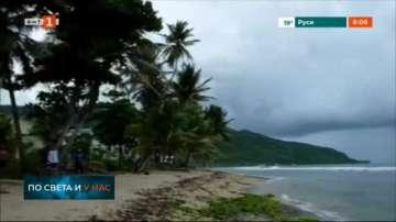 Ураганът Дориан наближава Пуерто Рико