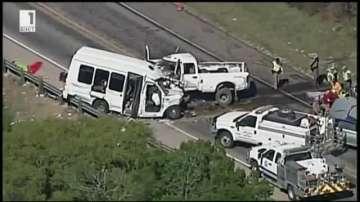 Автобус катастрофира в Тексас и отне живота на поне 12 души