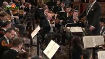 Репетиция на Виенската филхармония за празничния концерт на 1 януари