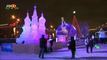 Фестивал на ледените фигури в Москва