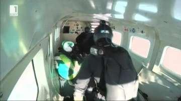 Американец скочи без парашут от височина 7 600м!