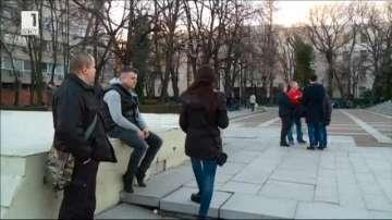 Протестите в защита на доктор Иван Димитров в Пловдив утихват