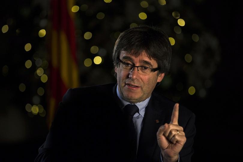 Каталунският парламент одобри предложение за символично преизбиране на Пучдемон