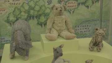 Реставрират оригиналната играчка Мечо Пух