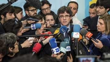 Карлес Пучдемон не може да бъде премиер, ако не се върне в Испания