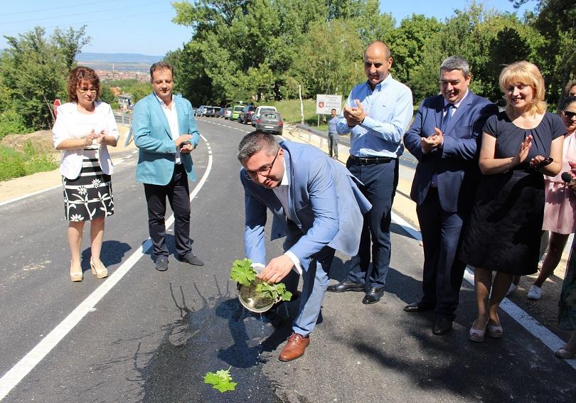 Министърът на регионалното развитие и благоустройството Николай Нанков откри реконструирания
