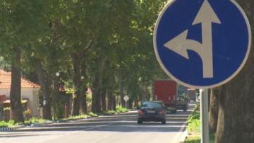 Откриха ремонтиран участък от пътя Добрич - Варна